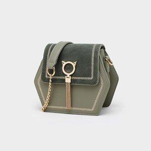 2020 New Women's Bag Foreign Style Small Bag Korean Tassel Shoulder Fashion PU Leather Ladies Messenger