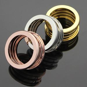 Панк кольцо оптовая 2019 новой мода подарок женщины роскошь дизайнер ювелирных изделий кольца пар из нержавеющей стали мужской розового золота весной