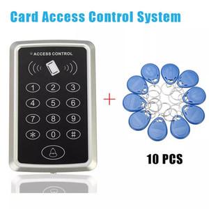 10 etiqueta RFID + cartão de proximidade RFID Sistema de Controle de Acesso ao Cartão Teclado RFIDEM Access Control Door Opener