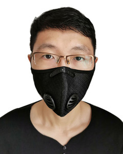 Cycling Protective Mask With Filter Activated Carbon Anti-Pollution Sport Running Training MTB Road Bike Cycling Mask