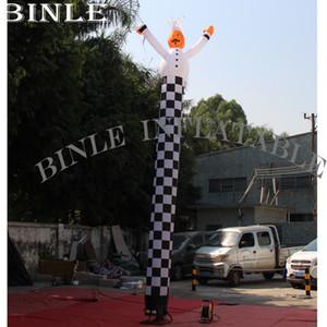 Personalizado 20 pés / 6m inflável cozinhar ar Dancer céu cartoon chef promocional para restaurante