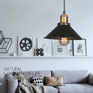 Métal Style Rétro Lampe Suspension d'éclairage Mini Vintage Style traditionnel classique Lampe suspendue pour Réfectoire Chambre