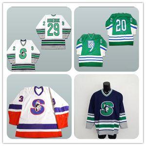 Custom Men Rare Vintage Springfield Ma Indians Hockey Jerseys CHeap Snoop Dogg L Jersey Bordado Cosido Cualquier Nombre Número Uniformes
