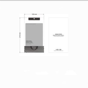 100 pcs/lot Plastic Packaging Bag For Samsung Note 10 S10 Plus Phone Case Packaging Cell Phone Case Cell Case Custom Speculate Your Design for iphone (11)