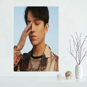 Personnalisé Dimash Affiches Et Gravures Mur Photos Pour Chambre Chambre Art Moderne Affiche Décor À La Maison Mur De Soie Tissu Tissu Sans Cadre