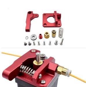 100pcs Mk8 rouge à distance extrudeur pour les pièces de l'imprimante 3D Upgrade MK8 full metal extrudeuse Accessoires 3D en gros