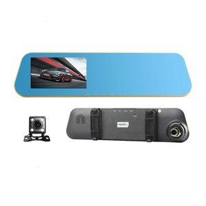 Anyetk N8 Full HD 1080P Car Dvr Camera Auto 4.3 Inch Rearview Mirror Digital Video Recorder Dual Lens Car Dvr Camera