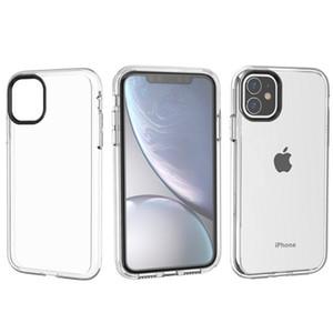 Premium Kalite Temizle Zırh Telefon Kılıfı Hibrid Sağlam Darbeye Arka Kapak iphone 11 Pro iPhone 11 Pro Max XS MAX XR X 7 8 artı
