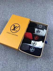 2019 marka çorap moda erkek çorapları nötr bayanlar pamuk çift üst seviye çorap ücretsiz boyut 004201