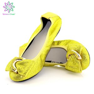 Silver flat-bottom ladies shoes African ladies' banquet dance shoes Driving comfortable flat-bottom ladies shoes