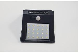 Solar llevó iluminación al aire libre 20 40 48 96 Los paneles LED de alimentación del sensor de movimiento PIR COB impermeable jardín de luz LED de pared de luz caliente de la venta