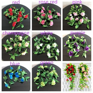Artificial Other Festive & Party Supplies Festive & Party Supplies Hanging Ivy Garland Plants Vine Fake Foliage Flower wisteria Home Garden