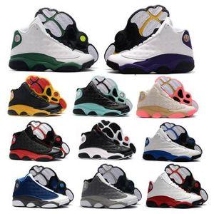 Ada Yeşil 13 13s Erkek Basketbol Ayakkabı Sneakers Kadınlar Jumpman Lakeres Çin Yeni Yılı Bred Ray Allen PE OG Flint Atmosfer Gri Ayakkabı