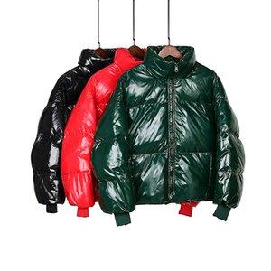 Heydress Winter Glossy Down Parka women Waterproof Coat Embroidery jackets large size Loose Winter Warm Thick Parka Women Jacket