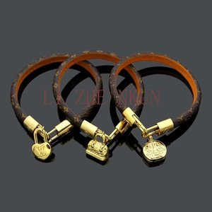 A Variety of Style Bracelets High Quality Leather Bracelet for Couple Bracelet Top Luxury Design Jewelry Supply
