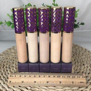 최고의 품질 모양 테이프 컨실러 컨투어 5 색 공정한 빛 중간 중간 가벼운 모래 10ml 컨실러 액체 재단