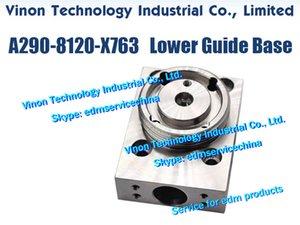 A290-8120-X763 فانوك السفلى الموت دليل قاعدة (الفولاذ المقاوم للصدأ) للفانوك الهوية، سلسلة أي CNC WIRE CUT EDM MACHINES A290.8120.X763 EDM قطع الغيار