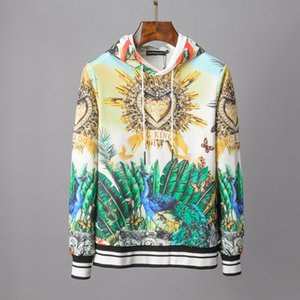 High-quality mens designer hoodie Mens O-Neck Pullover Sweatshirt Clothes Fashion Casual Hoodies Lovers Print High Street Sweater Hoodie