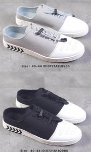 2019 High quality fashion designer brand Canvas casual Shoes Mens Classic Canvas outdoor casual running shoes size 40~44 with box