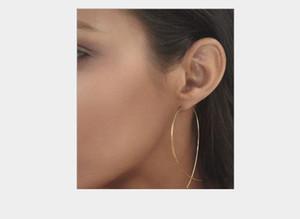 Jewelry Personality Simple Tourist Street Shot Copper Fish-shaped Handmade Earrings Earrings
