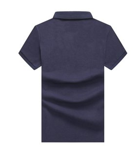 Mens Designer Polos Brand Crocodile Embroidery clothing men letter polo t-shirt collar t-shirt tee shirt tops