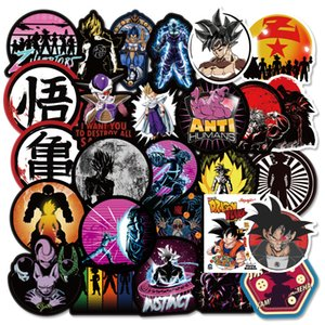 100 PCS Dragon Ball super waterproof anime Stickers Graffiti for DIY Sticker on Suitcase Luggage Laptop Bicycle Skateboard Car