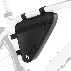Cycling Triangle Bag Water-resistant MTB Road Bike Frame Tube Bag Pannier Bicycle Bag
