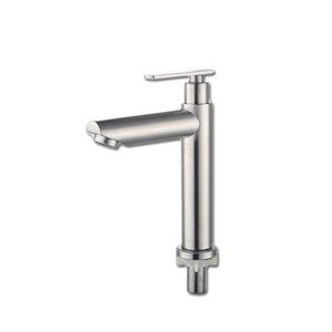 Оптом и в розницу дешево хорошее качество нержавеющей стали SUS304 Матовый БВУ Нажмите кран для холодной воды только 1037