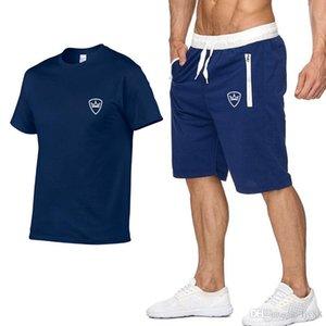 2020 abiti da uomo sportivo Palestra Sport Quick Dry esecuzione regola i vestiti di sport jogging palestra di formazione Tute Fitness Corsa Set