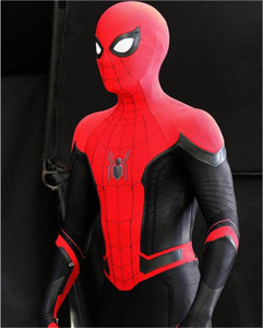 Red Spider-Man away from home costume Lycra spandex Zentai Halloween cosplay costume adult suitable for any occasion