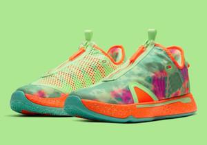 게토레이 PG 판매 핫 폴 조지 남성 여성 농구 신발 가게 무료 배송 US7-US12 4 개 ASW 신발
