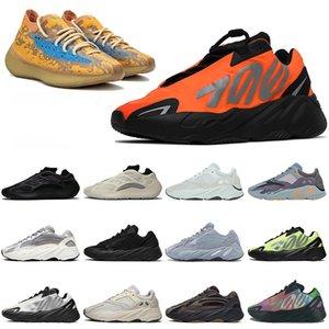 2020 Stock X Kanye West 700 v2 Laufschuhe Hot Magnet Carbon Blau Orange Bone Wave Runner 700er Frauen Herren Trainer Sport Sneakers