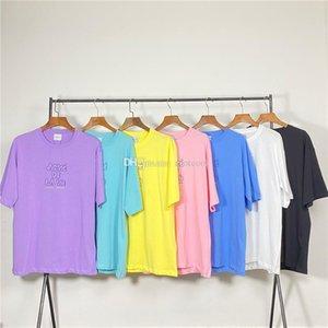 Acme de la Vie ADLV marca de diseño de calidad superior Hombres Mujeres camiseta impresión de la moda camisetas de manga corta # 506