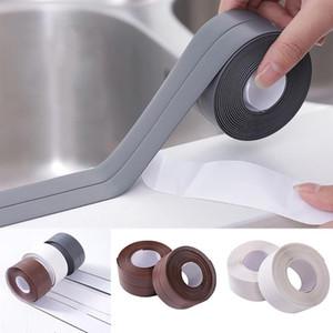 3,8 * 320 centimetri autoadesivo da cucina in ceramica Sticker impermeabile anti-umidità del PVC della Bathroom Wall angolo