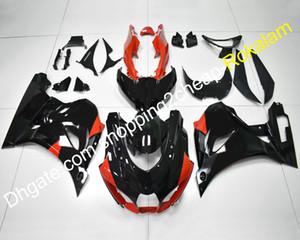 Motocicleta Para Suzuki GSXR1000 GSXR 1000 17 18 19 GSX-R1000 K17 2017 2018 2019 Vermelho Preto Carenagem Aftermarket Kit (moldagem por injeção)