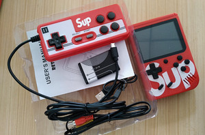 2 kişi SUP El Video Oyunları Konsol Taşınabilir Retro 8 bitlik FC MODELİ İÇİN FC 400 1 AV Game Player için çocuklar