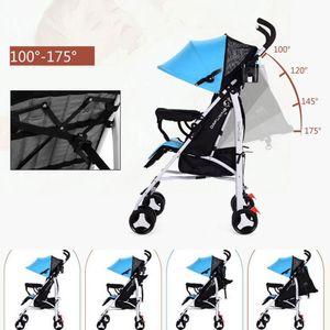 Kidlove Baby Folding Stroller Laid Down Portable Baby Umbrella Cart