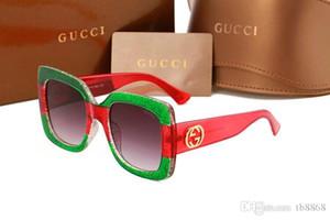 Box ile Erkek Adumbral gözlükler UV400 Marka Renkler Yüksek Kalite hhyudMetal Çerçeve Erkek DesignerSunglasses Lüks Güneş DesignerGlass