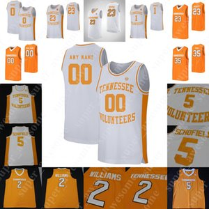 Tennessee Volontaires Jersey Basketball Bowden Yves Pons Lamonte Turner Grant Williams Admiral Schofield Bone John Fulkerson Josh Richardson