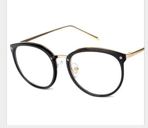 Trend Flat Mirror aus Metallrahmengläsern College Kurzsichtige Brillenfassung desselben Typs für Männer und Frauen