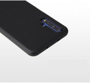 Huawei Nova 5T Mattkasten Huawei Nova 5T Phone Case Huawei Honor 20 20S stoßfest Süßigkeit-Farben-TPU Silikon-Taschen