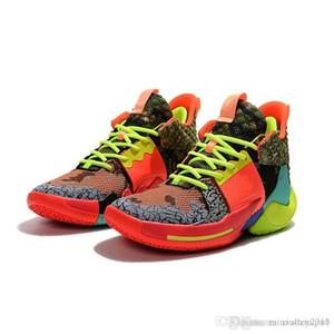 Satılık yeni Erkek Lebron 5 basketbol ayakkabı retro Russell Westbrook Oreo çocuk boys orijinal kutusu ile AJ AJ 6 çizmeler sneakers ...