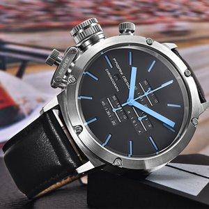 원래 파가니 디자인 스포츠 시계 남성 다기능 다이브 고유의 혁신적인 크로노 그래프 석영 손목 시계 남성 Relogio Masculino