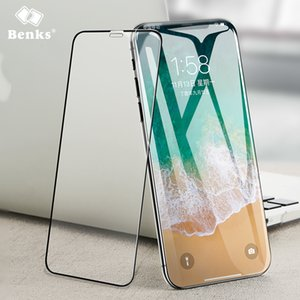 """아이폰 X Xs 5.8 """"강화 유리 Screen Protector iPhoneX XS 필름 용 보호 커버 풀 커버"""