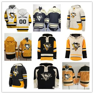 2019 Homme Pittsburgh Penguins Pullover Swewover Sidney Crosby Krisng Jake Guentzel Evgeni Malkin Hornqvist Kessel Lemieux Jersey
