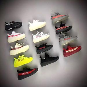 Baby Kids Run Shoes Kanye West SPLY Кроссовки Кроссовки V2 Детская спортивная обувь Мальчики Девочки Кроссовки Черный Красный Крем Белый Зебра