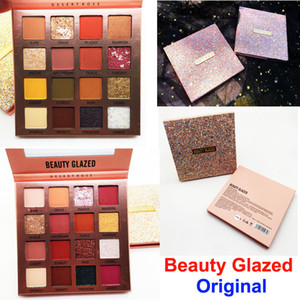 Makeup Eyeshadow Palette Beauty Glazed Eye Shadow Desert Rose 16 Colors Pearly Shiny Matte Nude Eye Shadow Palette High Pigmented Powder