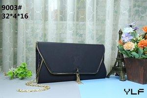 En kaliteli yeni kadın Tek omuz çantası çanta cüzdan pu deri mesaj çanta mustbag Cep tote çanta çanta size32 * 4 * 16 cm 9003