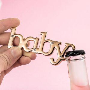 ДЕТСКОЕ бутылки пива открывалка для венчания Baby Shower партии День рождения благосклонности подарков Сувениры Сувенирная Высокое качество бутылок Бесплатная доставка