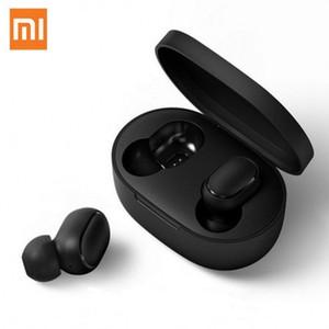 Original Xiaomi Redmi Airdots Kopfhörer Xiaomi drahtloser Kopfhörer Sprachsteuerung Bluetooth 5.0 Rauschunterdrückung Tap Control-Unterstützung Bluetooth